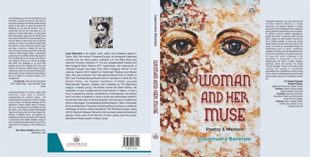 Woman and her muse_cover